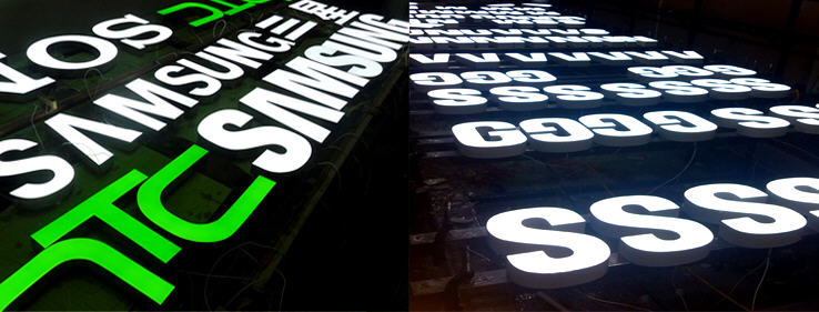 led signage, led sign, led 3D letters, led module, sign led light supplier