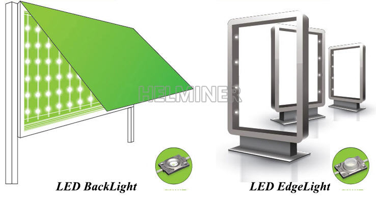 led modul, led for light box, edge led for light box