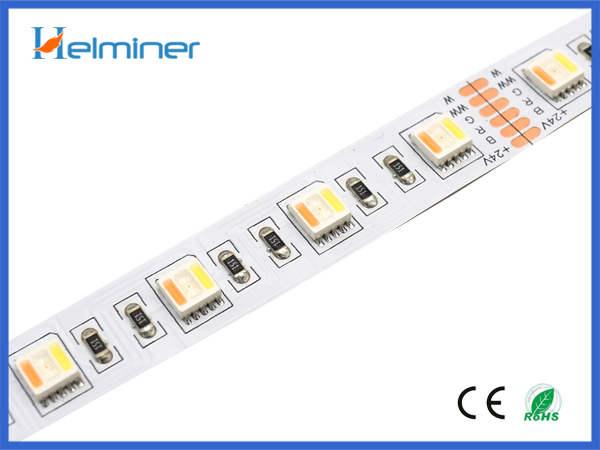 5 in 1 , rgbwww led strips, double white rgb led strips